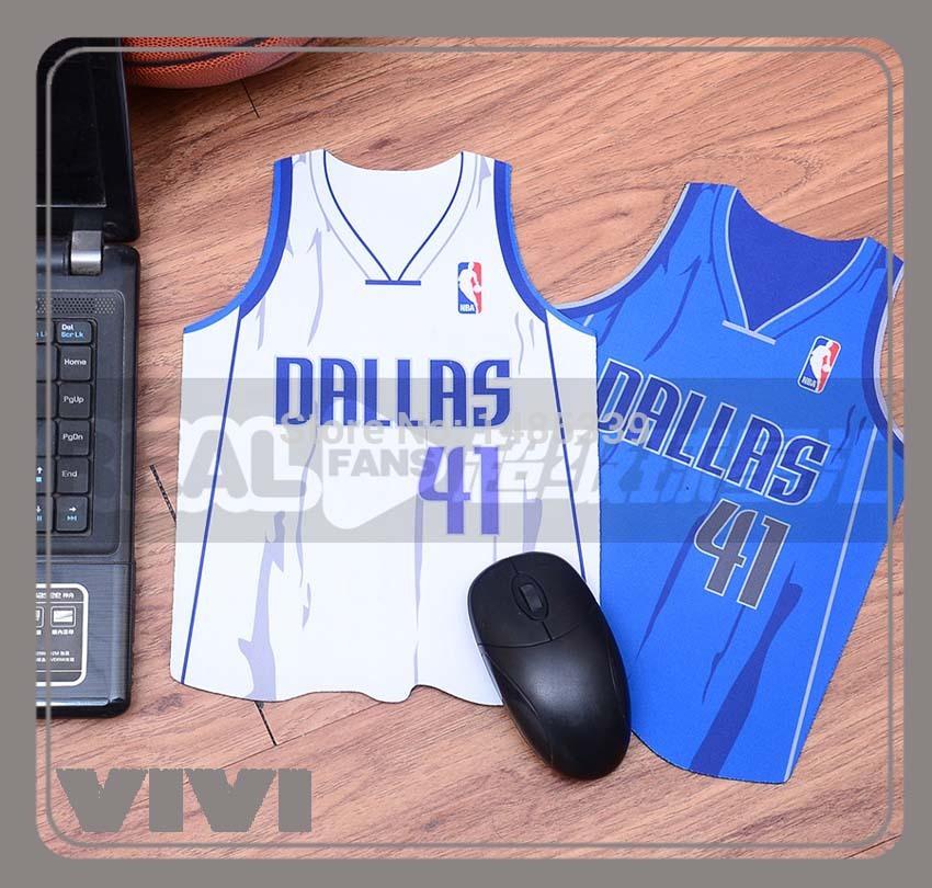 Dallas Mavericks Jersey Dallas Mavericks Mouse Pad