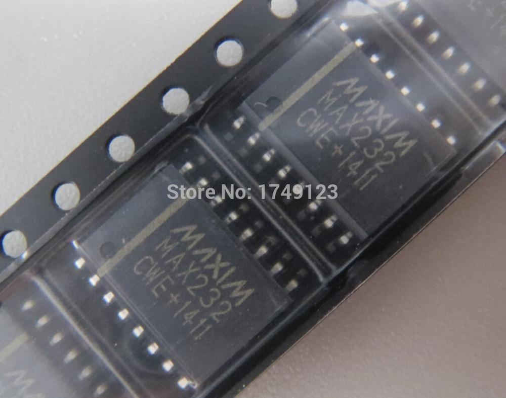 Free-shipping-50PCS-MAX232CWE-font-b-MAX