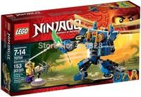 2015 New Lego Ninjago Original Brand Educational Blocks Bricks Sets Model Classic Toys Children ElectroMech 70754 With Box Hot