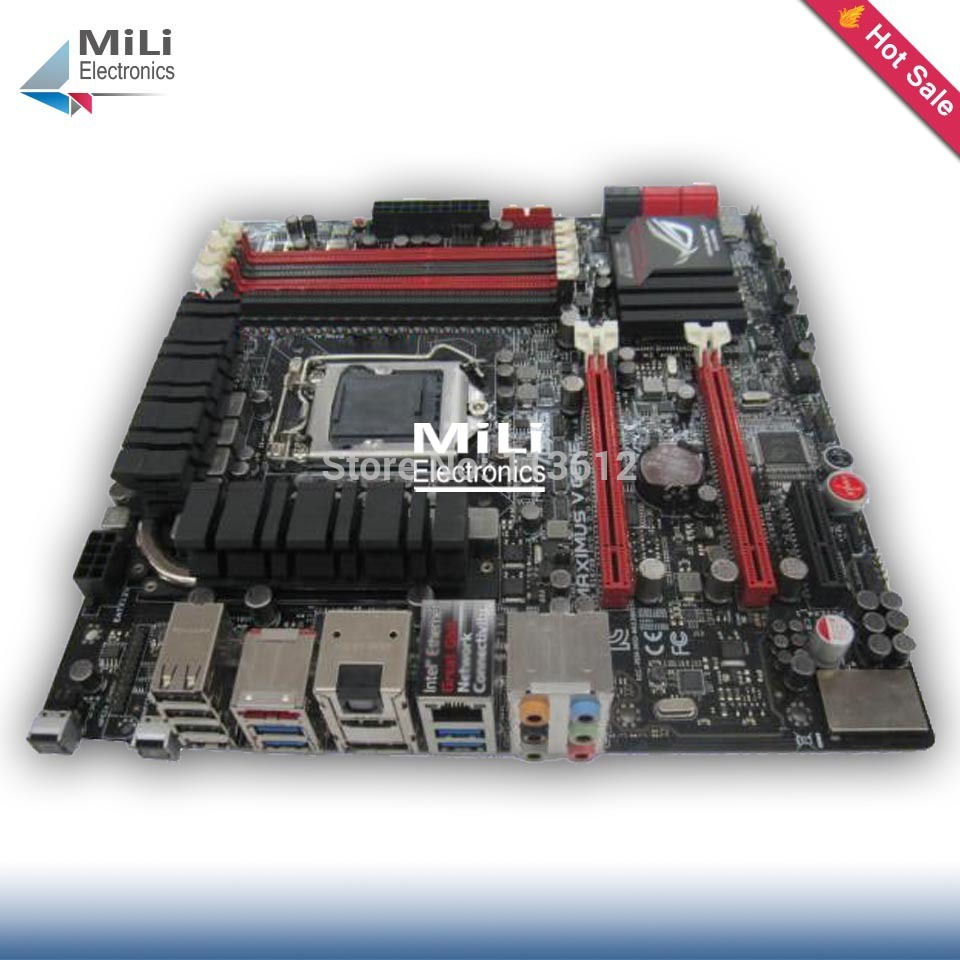 90% new LGA1155 for Asus MAXIMUS V GENE Z77 Desktop motherborad DDR3 32G mini ATX USB3.0 for i3 i5 i7 1155 cpu(China (Mainland))