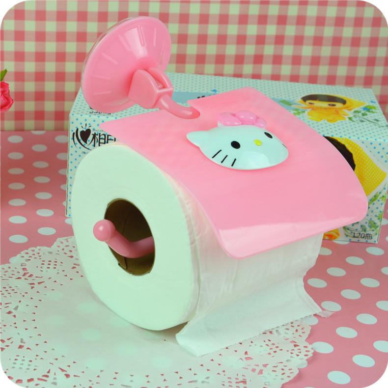 Estante De Baño Para Toallas:ventosa toalla de papel de aspiración baño estante inodoro rollos de