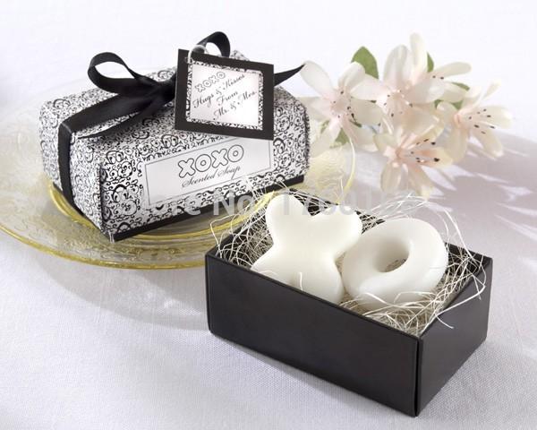 Ocidental mão mini XO sabão para favores do casamento para enviado para os convidados(China (Mainland))