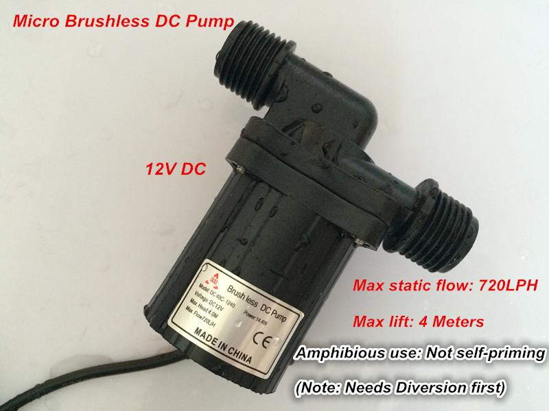 Центробежный насос Shysky Tech dc40c/1240, 720LPH 4 DC40C-1240