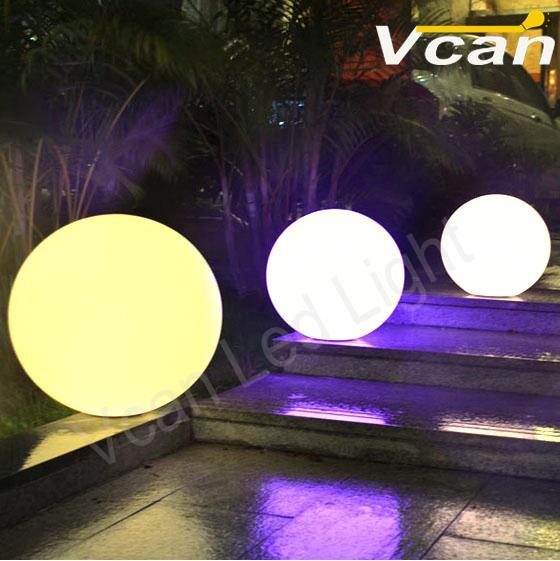 30cm 4PCS Fast Shipping plastic light sphere/ outdoor sphere led lighting/ ball lights sphere light(China (Mainland))