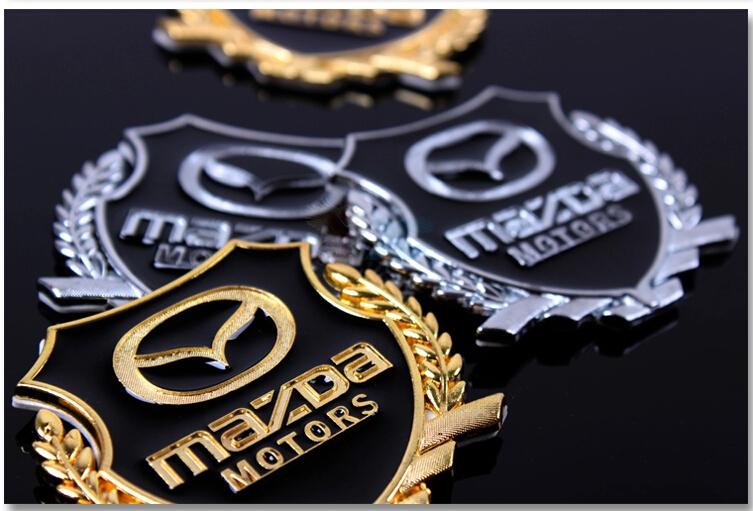 Auto parts Mazda 3 right wing star import Leon g Sarah logo design car side window