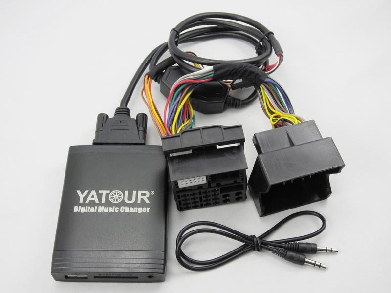 Yatour Car CD Player USB SD MP3 interface for 5000C/6000CD/6006CDC(China (Mainland))