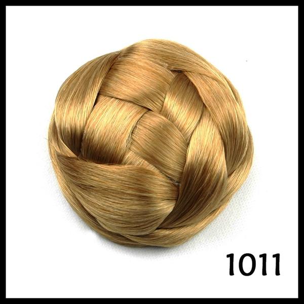 Braided Hair Bun Piece Hair Bun/ Braid Hair Bun /
