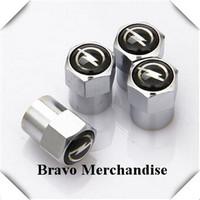 4caps/set mini-type automobile wheel tire tyre valve cap cover with opel car brands logo emblem badge