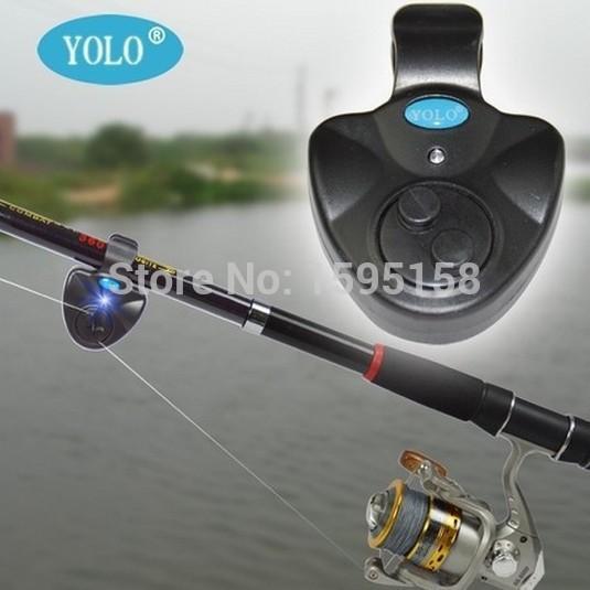 Universal Fishing Alarm Electronic Fish Bite Alarm Finder Sound Alert Running LED Clip On Fishing Line Lures Float Fishing Rod(China (Mainland))