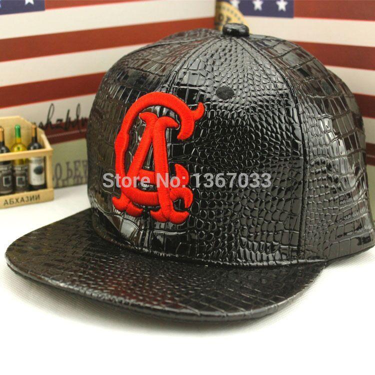 2015 New Fashion Leather Letter CA Cap Baseball Caps Hip-hop Cap Gorro Gorras Snapback Hat Outdoor Sports Caps For Women & Men(China (Mainland))