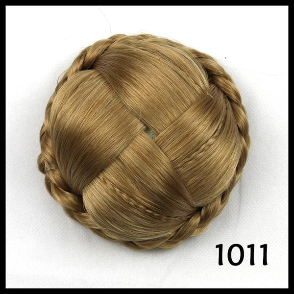 Braided Hair Bun Piece 70g Bigger Size Braid Hair Bun