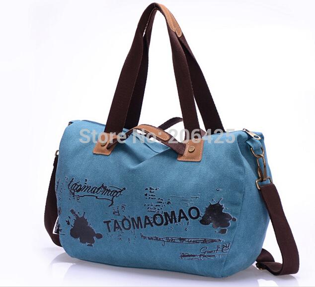 Fashion Women Shopping Bag Travel Outdoor Big Messenger Bag Leisure Shoulder Bags Free Shipping(China (Mainland))