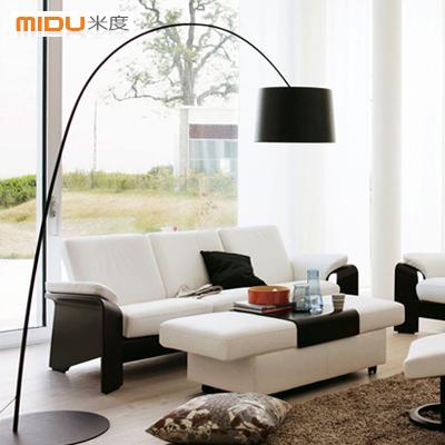 [Mido] modern living room coffee table bedroom den European fishing lights shining creative floor lamp(China (Mainland))