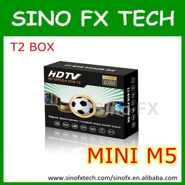 Good price TV product DVB BOX M5 mobile digital car dvb-t2 tv receiver(China (Mainland))