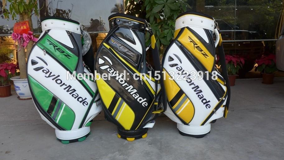Brand New High Quality Golf Bags Golf Standard Ball Package PU Bag(China (Mainland))