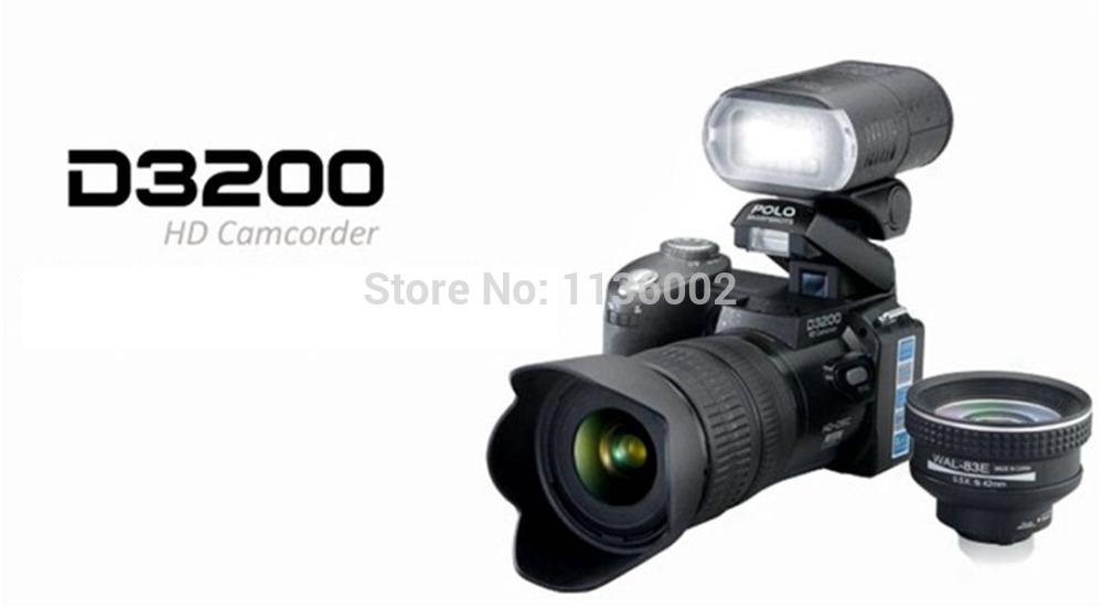 PROTAX D3200 full HD high-definition digital SLR camera 16 million pixels 21X optical zoom HD LED headlamp digital camera(China (Mainland))
