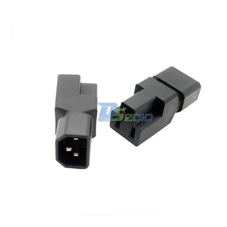 PDU UPS AC Power adapters, C14 to Nema 5-15R Plug IEC Male To US Female adapter@&jch(China (Mainland))