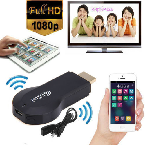 TV Stick WiFi Display Receiver EzCast 2 TV Stick HDMI 1080P Miracast DLNA Airplay WiFi Dongle Windows iOS Andriod HDWL0017 ezcast m2 wireles hdmi wifi display dongle adapter tv stick receive andriod miracast dlna support ios android windows
