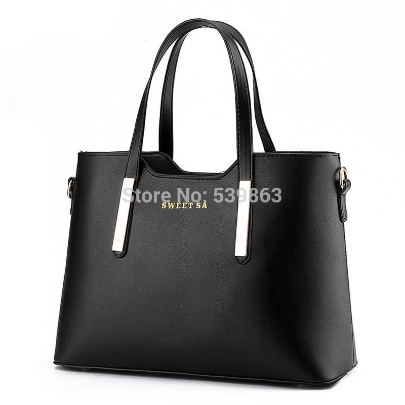 PU bag 2015 new bag Korean version of the European and American stereotypes fashion handbags shoulder bag handbag Messenger Bag(China (Mainland))