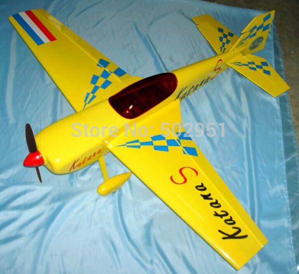 katana 46 remote control airplane model / balsa / 3D gasoline Airplane KIT(China (Mainland))