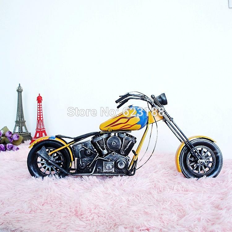 Zakka Art.Big Size Harley Iron Motorcycle Model.Metal die cast metal motorcycle model.Hundred percent pure handmade.Harley.(China (Mainland))