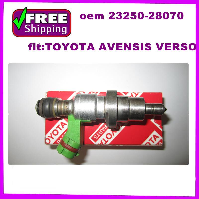 FENUINE DENSO TOYOTA AVENSIS Fuel Injectors NOZZLE 2AZFSE 2.4L 2003-2008 23250-28070 23209-29065(China (Mainland))