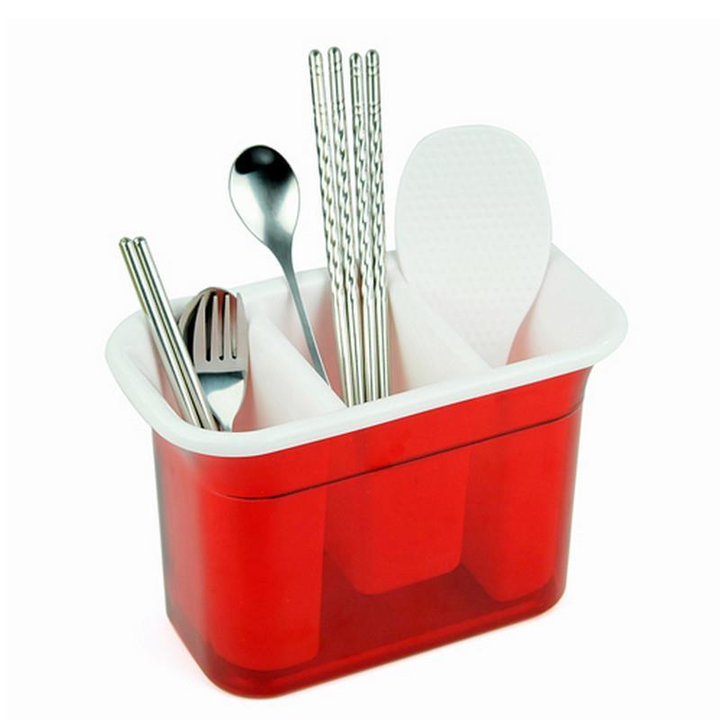 Cook 20.5 * 11 * 14cm red food grade PP Drain rack drip shelf storage rack kitchen dishes rackescorredor de pratosor(China (Mainland))