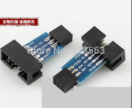 Интегральная микросхема PCB Board 10 6/atmel AVRISP USBASP STK500 30648 интегральная микросхема 12v 9ch pcb x 1
