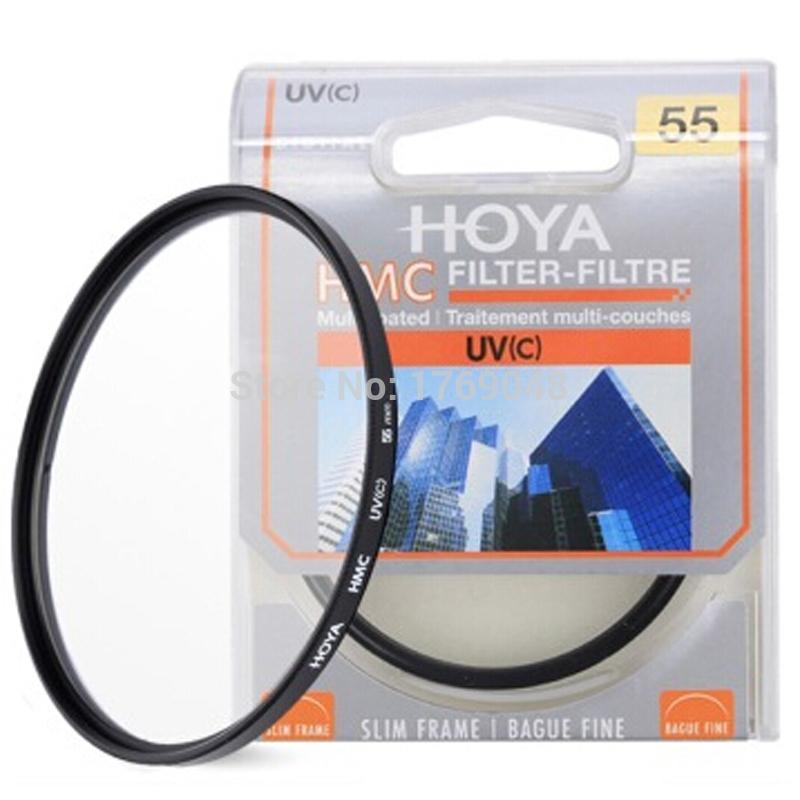 55mm Hoya HMC UV (C) Slim Digital SLR Lens Filter As Kenko B+W(China (Mainland))