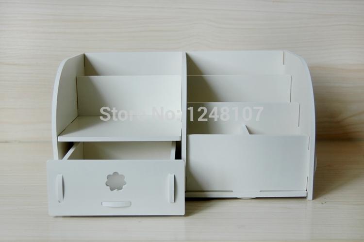 DIY Desktop Storage Boxes Bathroom Bedroom Home Organization Home Decro(China (Mainland))