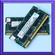 Hynix 4GB 2x2GB PC2-6400S DDR2-800 800Mhz 200pin DDR2 Laptop Memory pc2 6400 800 MHZ Notebook Module SODIMM 4G RAM Free Shipping(China (Mainland))
