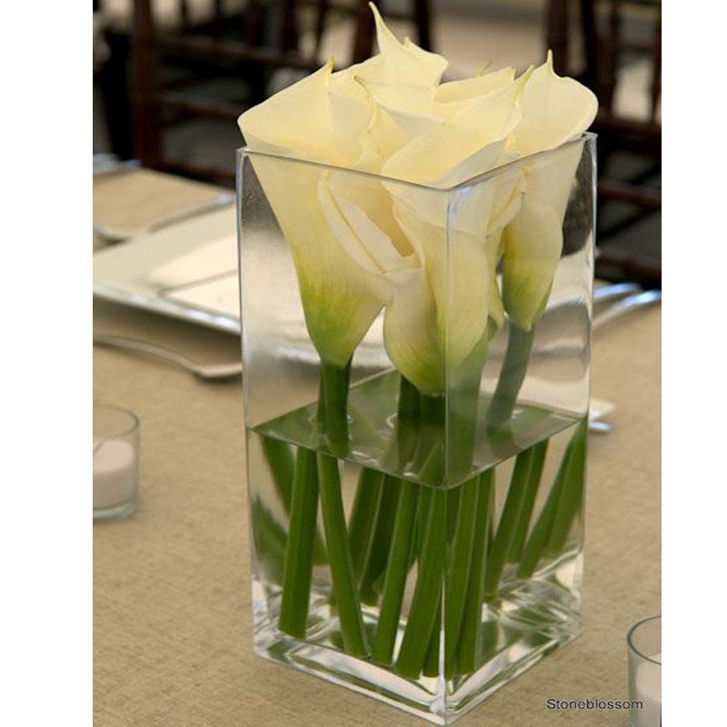 Glass Flower Vase Glass Vase Vase Square