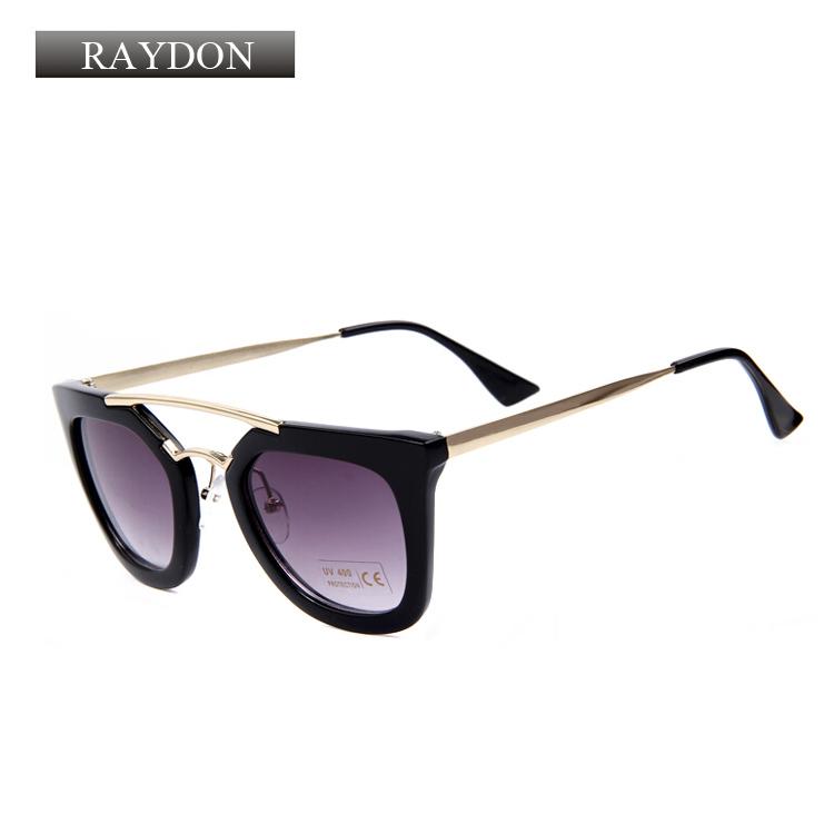 raydon brand designer vintage cat eye sunglasses