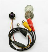 1/4 cmos 600TVL Mini CMOS Color IR Camera CCTV security Camera 1.8mm Wide view LENS FPV camera