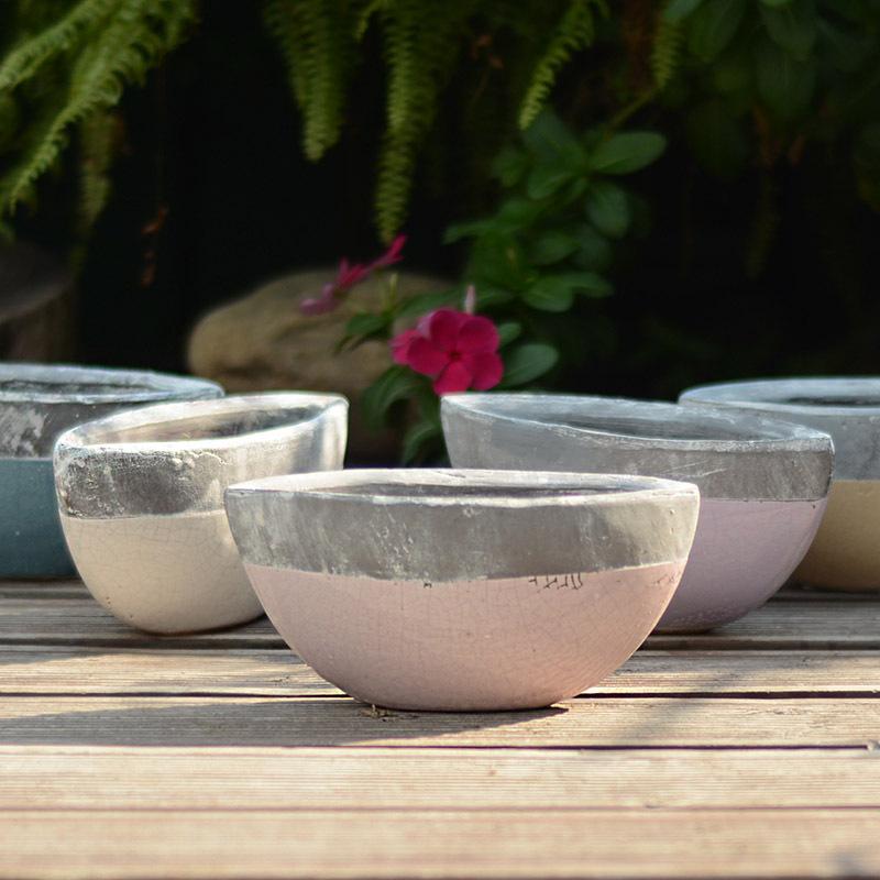 Ceramic pots European retro do the old clay ceramic stoneware pots ceramic pots olive(China (Mainland))