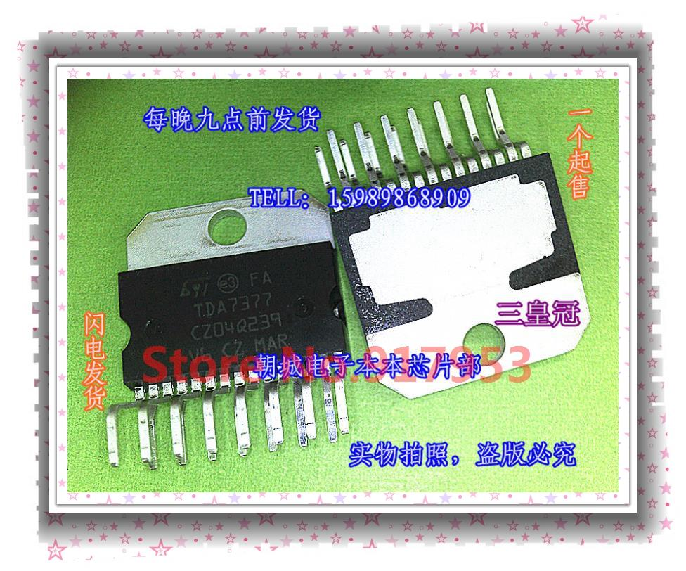 Интегральная микросхема Integrated circuit TDA7377 интегральная микросхема mot mc68hc908gp32cp qfp m68hc08
