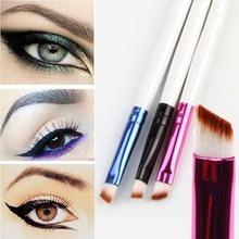 1PC Super Soft Professional Oblique Makeup Eyebrow Brush Eyeshadow Blending Angled Brush Comestic Make up Tool