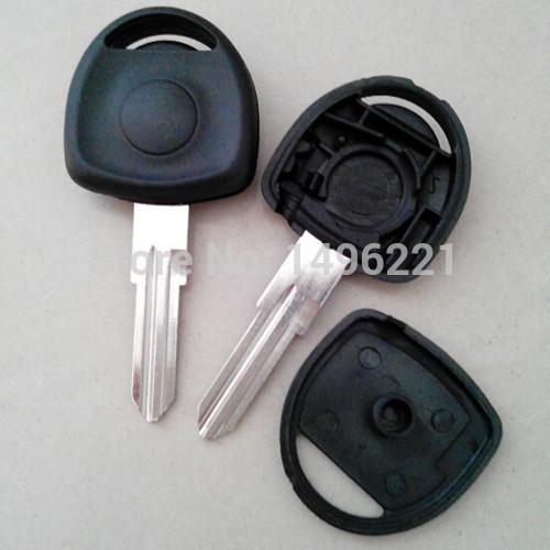High quality Opel transponder key blank with left blade key shell no logo free shipping(China (Mainland))