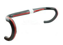 Bike Bicycle Handlebar Cycling Full Carbon Fiber Handle Bar Road Bike Handlebar Bent Bar Carbon Bike Part 400/420 / 440mm