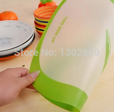 2015 Large resin scrub classification cutting board fruit cutting board transparent cutting board antibiotic slip-resistant(China (Mainland))