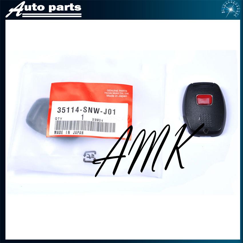 AMK Key case Auto parts for honda key shell have H logo emblem