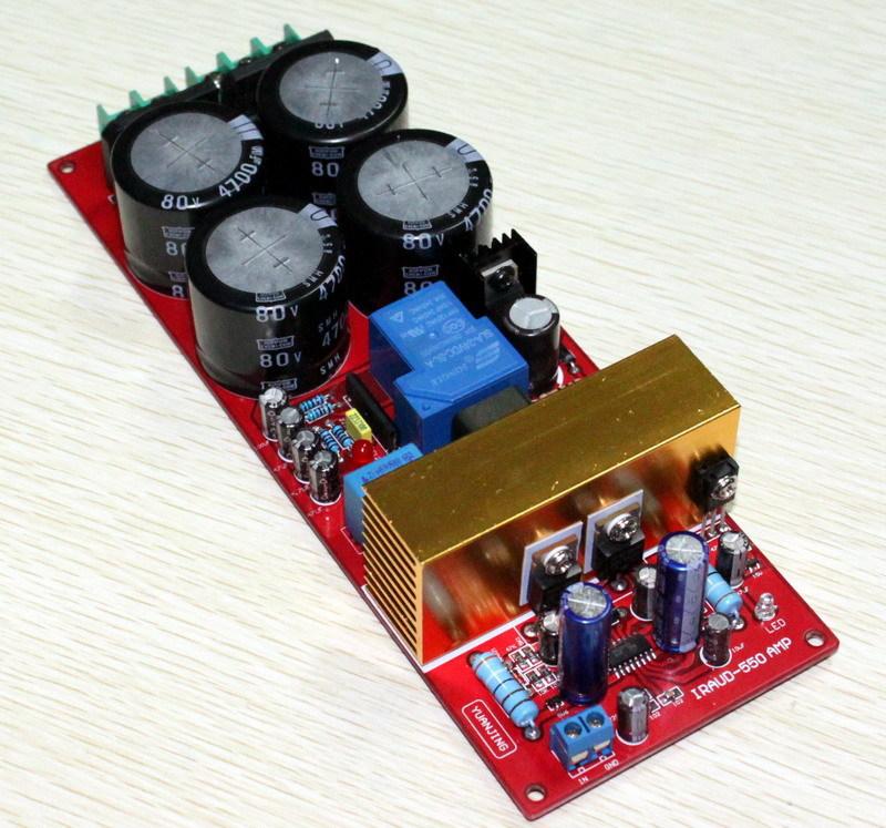 Аудио усилитель Class D AMP board IRS2092 IRFB23N15D D 700w D 2 channle amp iraud200 class d power amplifier board irfb4227 700w 700w