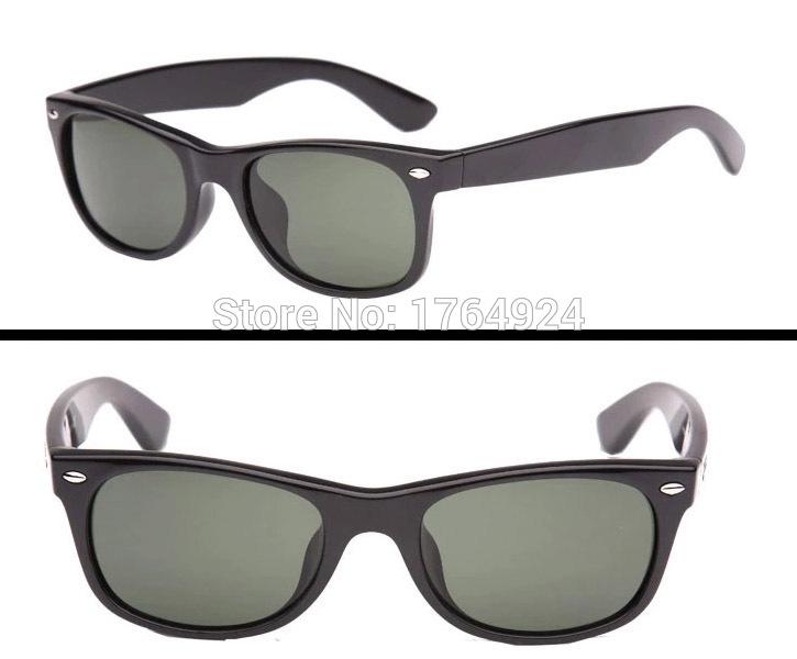 Hot sale Original quality New Wayfarer sunglasses women brand designer men glasses 2132 black acetate frame