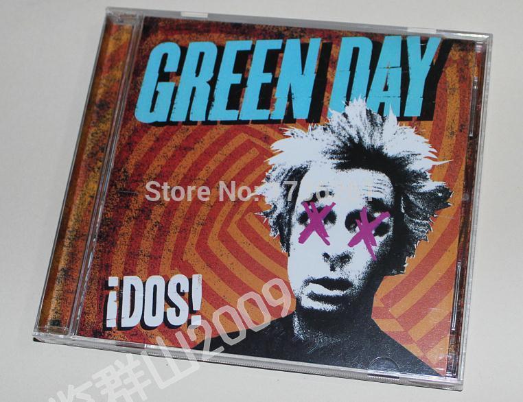 Green Day iDos album CD Booklets Full Box Set Sealed Free shipping B37(China (Mainland))