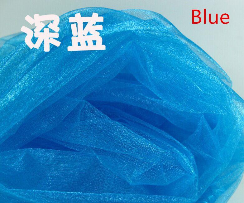 Good quality organdy for wedding decoration, backdrop chair stair handrail crystal snow yarn, diy accessories(W:150CM)(China (Mainland))