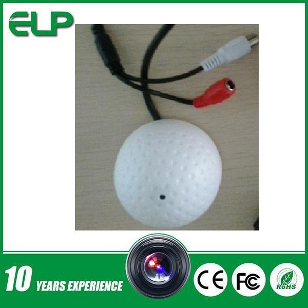 CCTV mini golf dome style Audio Microphone for cctv ip camera(China (Mainland))