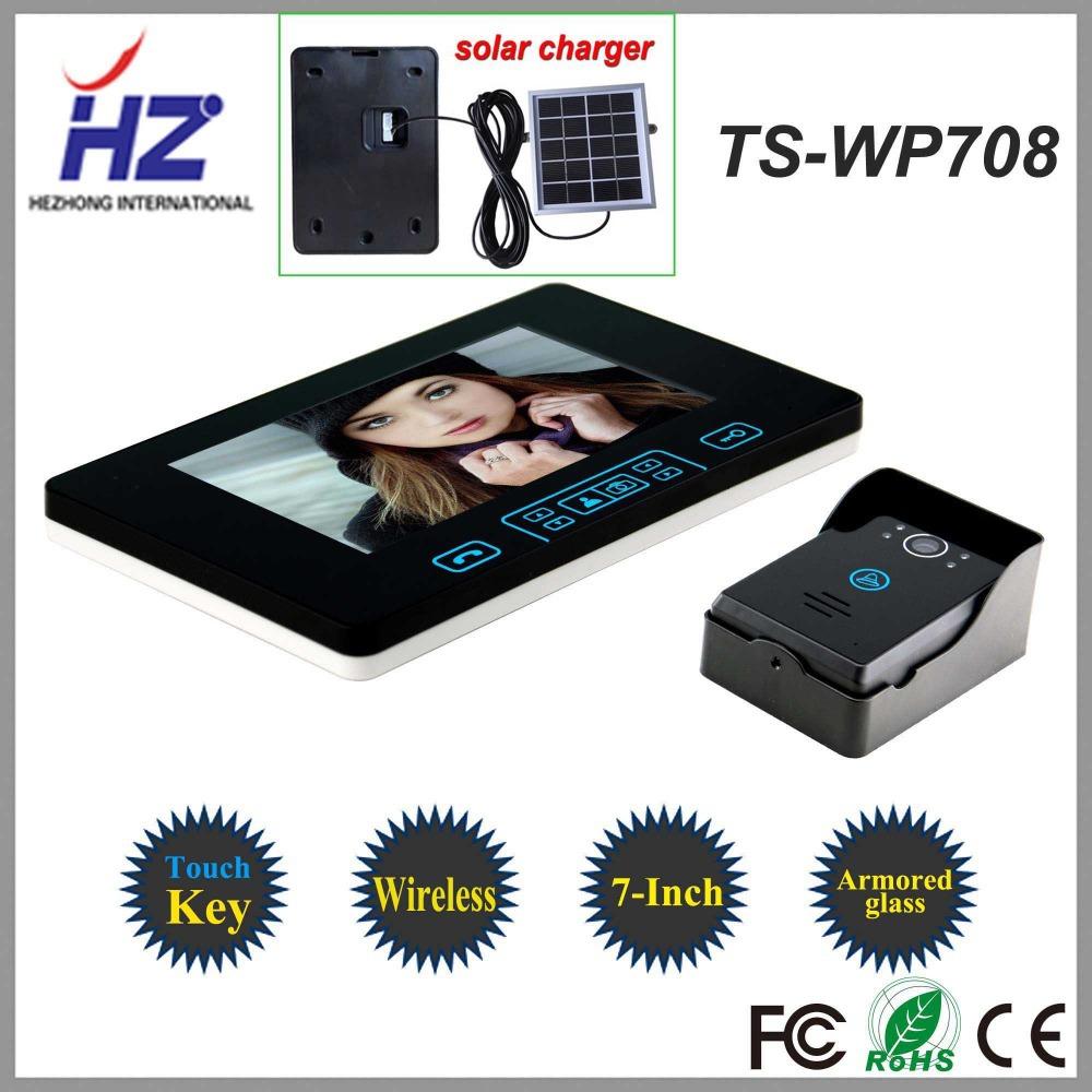 Видеодомофон Saful(Hezhong) 7 /2,4 TS-WP708 1V1 насадка для зубных щеток oem ru wp 70ec wp 65ec wp 60ec h20floss 7 for watepik wp 70ec hf 7 etc