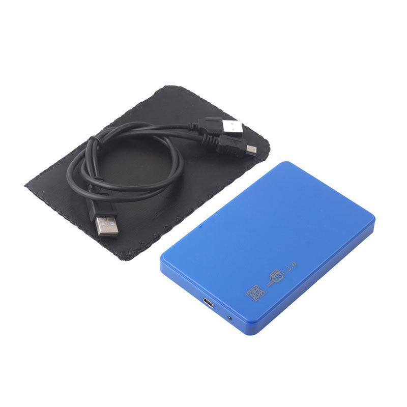 """Ultra Slim USB2.0 2.5 SATA Hard Disk Driver HDD External Box Case Enclosure 18"""" DTZE #53786(China (Mainland))"""