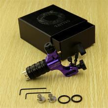 Purple Zinc Alloy Prodigy Rotary Motor Tattoo Machine Gun Shader Liner Supply(China (Mainland))