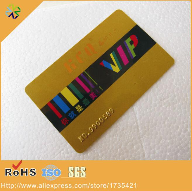 high frequency 13.56Mhz fudan 1k hard pvc plastic chip card(China (Mainland))